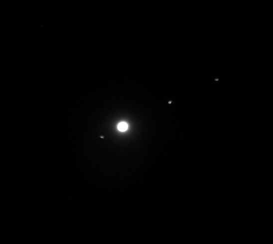 moons and jupiter in telescope - photo #3