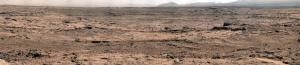 Panorama of rocky Martian landscape from Curiosity  Credit:  NASA/JPL