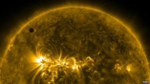 2012 Venus Transit in extreme ultraviolet light  Credit:  NASA SDO