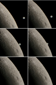 Series of images from the Jupiter-Moon occultation from Lebanon Credit:  AstroZ1 on Flickr