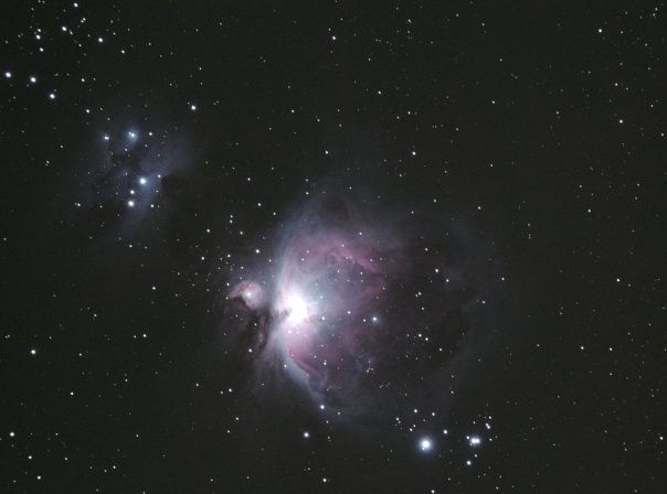 M42 is probably the most well-known deep sky object.