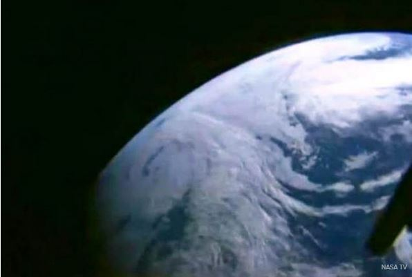 An image we haven't seen live for over 40 years.  (Credit NASA)